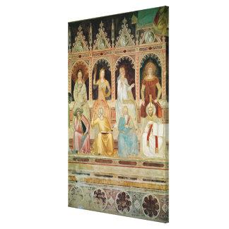 The Triumph of the Catholic Doctrine Canvas Print