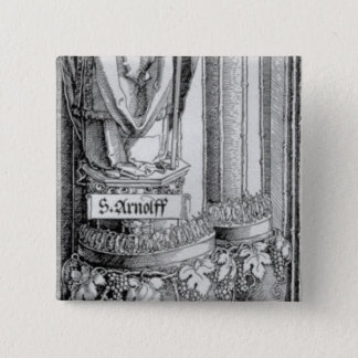 The Triumphal Arch 15 Cm Square Badge