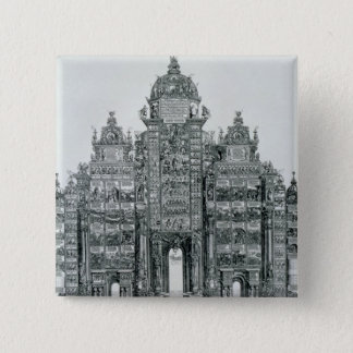 The Triumphal Arch 15 Cm Square Badge