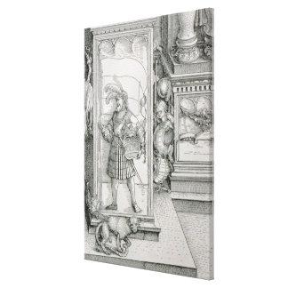 The Triumphal Arch Canvas Print