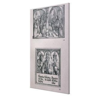 The Triumphal Arch of Emperor Maximilian I Canvas Print