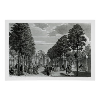 The Triumphal Arches, Handel's Statue in the South Poster