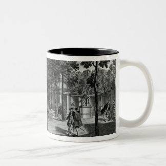 The Triumphal Arches, Handel's Statue in the South Two-Tone Coffee Mug
