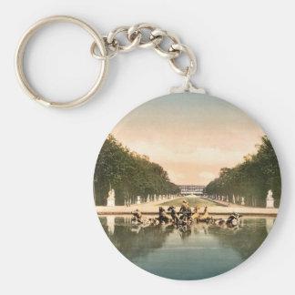 The triumphal car, Versailles, France classic Phot Key Chain