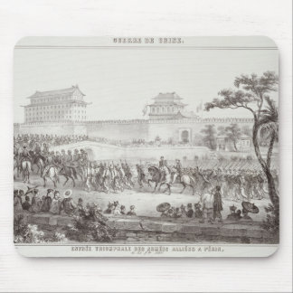 The Triumphal Entry of the Allied Armies into Peki Mouse Pad