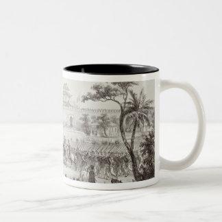 The Triumphal Entry of the Allied Armies into Peki Two-Tone Coffee Mug