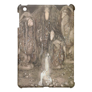 The Troll and the Princess by John Bauer iPad Mini Cover
