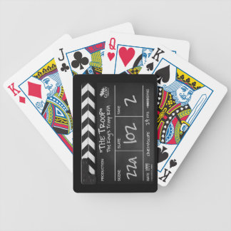 The Troop Playing Cards with Clapperboard Design