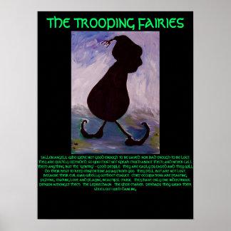THE TROOPING FAIRIES Leprechaun  - POSTER