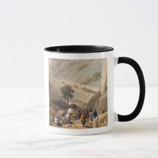 The Troops Emerging from the Narrow Part of the De Mug