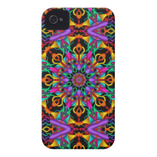 The Tropical Kaleidoscope, abstract fractal iPhone 4 Cases