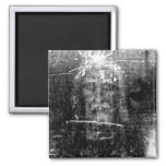 The True Face of Jesus Square Magnet