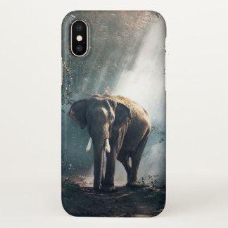The True King of the Jungle iphone Cover Elephant