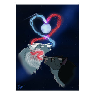 The True Love Howls - Posters