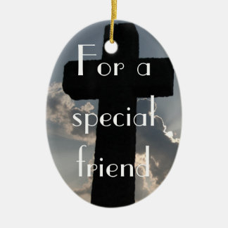 The True Meaning of Friendship (1 Corinthians 13) Christmas Ornament