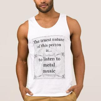 The truest nature: listen metal music