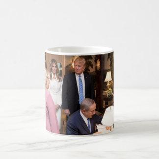 The Trumps & Netanyahus In Israel Coffee Mug