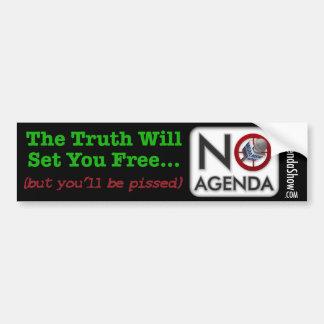 The Truth Hurts Bumper Sticker