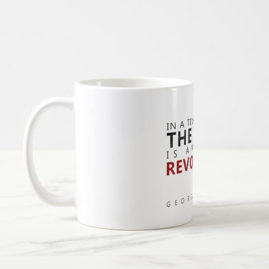 the truth is an act of revolution coffee