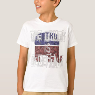 c152d4f7152 The Truth is Deceptive 1 T-Shirt