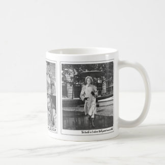 """""""The truth is I adore Hollywood musicals!"""" Basic White Mug"""