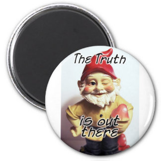The Truth is Out There 6 Cm Round Magnet