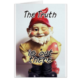 The Truth is Out There Card