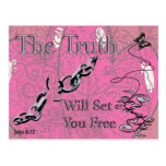 The Truth Will Set You Free - -