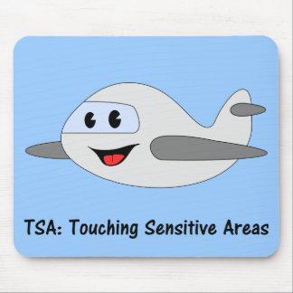 The TSA Lets Me Touch Sensitive Areas Mouse Pad