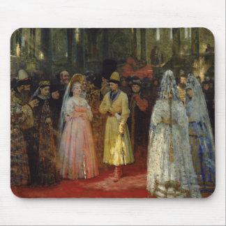 The Tsar choosing a Bride, c.1886 Mouse Mat