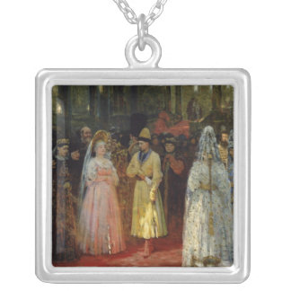 The Tsar choosing a Bride, c.1886 Silver Plated Necklace