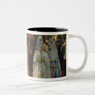 The Tsar choosing a Bride, c.1886 Two-Tone Coffee Mug