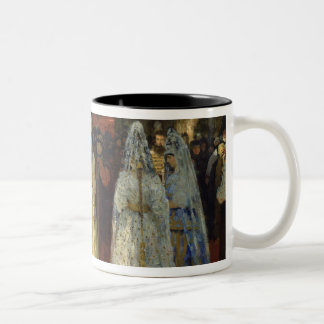 The Tsar choosing a Bride, c.1886 Two-Tone Mug