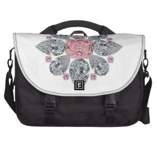 The Tudor Rose Pink Diamond Computer Bag