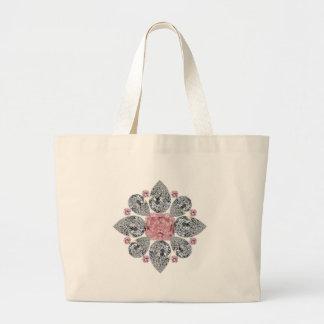 The Tudor Rose Pink Diamond Bags