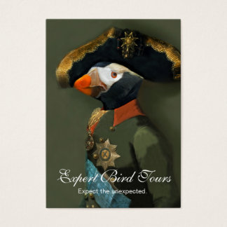 The Tufted Puffin General - Bird Guide Business Card