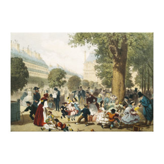 The Tuileries, 1856 Canvas Print