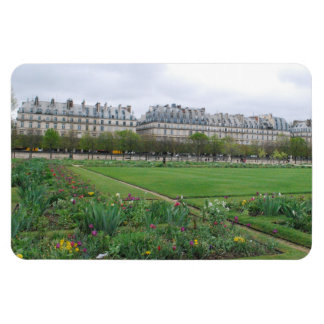 The Tuileries Garden Paris France Vinyl Magnet