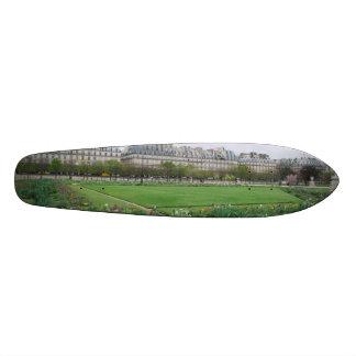 The Tuileries Garden Paris France Skate Boards