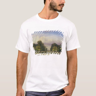 The Tuileries Gardens, with the Arc de Triomphe in T-Shirt