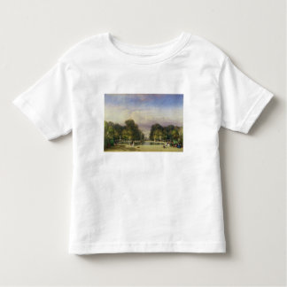 The Tuileries Gardens, with the Arc de Triomphe in Toddler T-Shirt