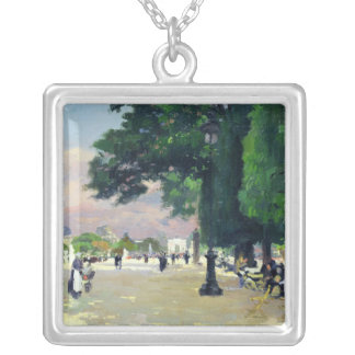 The Tuileries Silver Plated Necklace