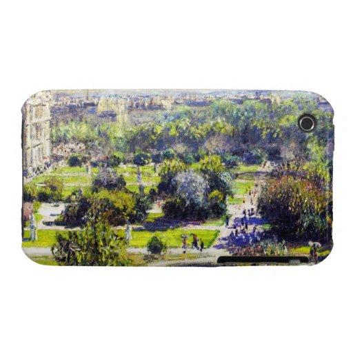 The Tuileries study  Claude Monet iPhone 3 Case
