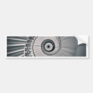 The Tulip Staircase, Queen's House Greenwich Bumper Sticker