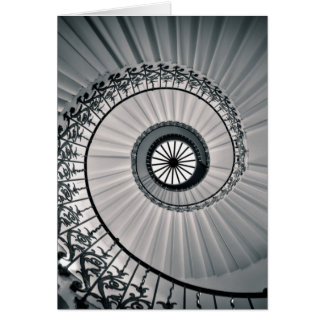 The Tulip Staircase, Queen's House Greenwich Card