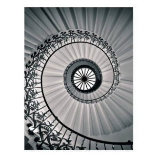 The Tulip Staircase, Queen's House Greenwich Postcard