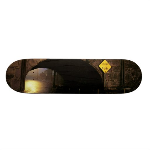 The Tunnel I - Magical World Beyond the Tunnel Skate Decks