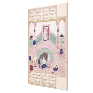 The Turkish Bath Canvas Print