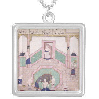 The Turkish Bath Silver Plated Necklace