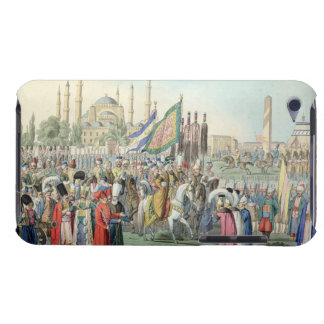 The Turkish Sultan reviewing his Janissaries (engr Barely There iPod Cases